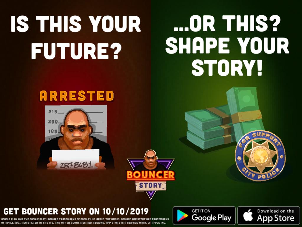 Bouncer Story promo